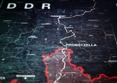Der Grenzbahnhof Probstzella